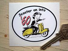 Motoneta Por en años'60 Clásico Scooter pegatinas Lambretta