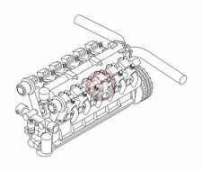 CMK 1/35 Nuffield Liberty Mk.III British WWII Tank Engine 3130
