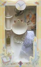 New Boys Or Girls Christening Baptism Candle Box Gift Set Shell Missal English S