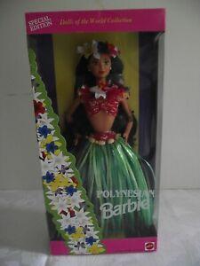 Dolls of the World POLYNESIAN Vintage Barbie, NRFB, Good condition
