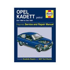 Revues techniques automobile depuis 1990 pour Opel