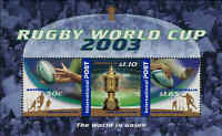 2003 AUSTRALIA Rugby World Cup M/S MNH