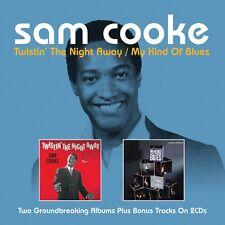 Sam Cooke TWISTIN' THE NIGHT AWAY / MY KIND OF BLUES +16 Bonus Songs NEW 2 CD
