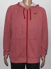 Nike Men's Dri-FIT French Terry Training Hoodie Jacket Red 588639 652 Large NWT