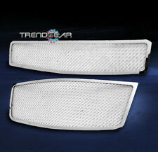 2009-2011 CHEVY AVEO5 HATCHBACK UPPER+BUMPER STAINLESS STEEL MESH GRILLE CHROME