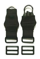 "1 Pair of ""Mash-Hook"" Ends & Metal Slides for 1.25"" wide Tactical Rifle Slings"