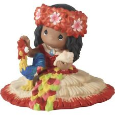 $ New Precious Moments Disney Porcelain Figurine Moana Hei Hei Rooster Chick Toy