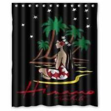 """Best Design hinano tahiti waterproof Shower Curtain 60""""x72"""" Print On"""
