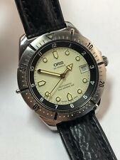 ORIS Taucher - ETA Automatic Ref. 7401 Herren Uhr Watch Diver Box und Papiere