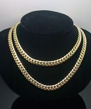 "10K Yellow Gold Miami Cuban Chain 6mm 28"", Franco, Rope, Italian"