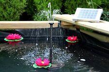 Fontana con Pannello Solare 70 cm con Pompa Acqua 2W Giardino Laghetto
