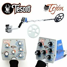 "Tesoro Tejon Metal Detector with 9"" x 8"" Search Coil"