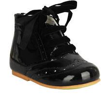 Chaussures noires avec zip pour bébé