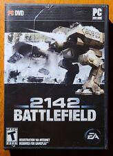 CIB Battlefield 2142 (PC, 2006) COMPLETE IN BOX