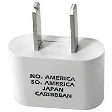 International Plug Adapter, European to USA