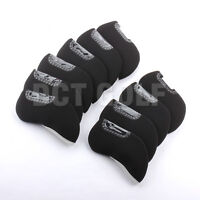 10Pcs/Set Neoprene Golf Iron Head Covers Headcovers For Titleist Callaway Mizuno
