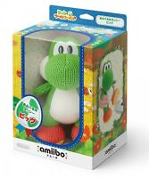 F/S Nintendo amiibo Knitted Mega Yarn Yoshi Wooly World Big Wii U F/S Japan