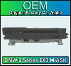 BMW Serie 6 E63 m-ask 6 Radio de coche, 6 Reproductor CD
