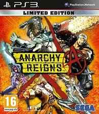 ANARCHY REIGNS - LIMITED EDITION | PS3 | Playstation | NEU&OVP | USK18