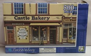Puzzlebug Castle Bakery Wales Jigsaw Puzzle 28cm x 46cm Complete Boxed c2012 MIB