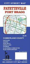 City Street Map of Fayetteville, Fort Bragg, North Carolina, by GMJ Maps