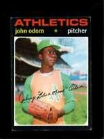 1971 TOPPS #523 JOHNNY ODOM VG+ ATHLETICS  *X7610