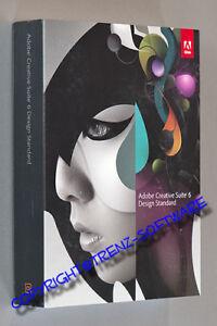 neu: Adobe Creative Suite 6 Design Standard deutsch Macintosh - mit Indesign CS6