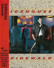 Icehouse ‎Sidewalk CASSETTE ALBUM Electronic Synth-pop black shell 406 334-652