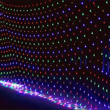 3*2M LED Weihnachtsbaum Weihnachtsbeleuchtung Lichterkette Lichternetz Außen RGB