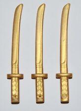 25411 Espada katana dorado 3u playmobil,flag,oriental,samurai,japan,sword