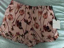 Victoria Beckham Target Girls Pressed English Floral Shorts Size Small BNWT