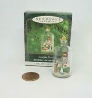 Hallmark Miniature Christmas Ornament SEASIDE SCENES #2 in series 2000 wbx&tg