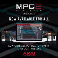 AKAI Professional MPC 2.2 (AU/VST/AAX) 2.0 iLok License and Program - PC & Mac