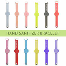 Portable Silicone Soap Bracelet Wristband Hand Dispenser Band Squeeze Bottle NEW