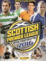 Scottish Premier League 2010 Album Vuoto Panini SPL