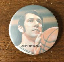 Vintage John Havlicek Button Pinback Boston Celtics Picture Buttons Buffalo NY