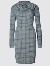 Marks and Spencer Viscose Cowl Neck Casual Dresses for Women