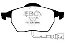 EBC Ultimax Front Brake Pads for Audi A3 (8L) 1.9 TD (130 BHP) (2000 > 03)