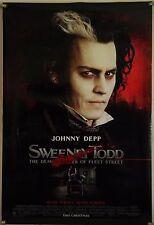 SWEENEY TODD DS ROLLED ADV ORIG 1SH MOVIE POSTER TIM BURTON JOHNNY DEPP (2001)