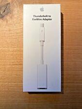 Original Apple Thunderbolt auf FireWire Adapter (MD464ZM/A) A1463, NEU & OVP