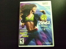 Replacement Case (NO GAME) ZUMBA FITNESS 2  NINTENDO WII