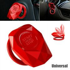 Universal Car Engine Push Button Start Decorative Ignition Switch Cover Sticker