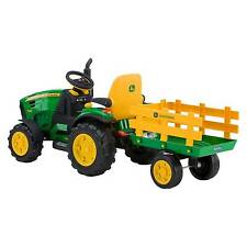 John Deere Ground Force Tractor 12 Volt Ride on - Peg Perego