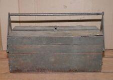 Snap-on 1920's cantilever tool box patent 1675484 socket holder mechanic restore