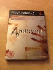 Resident EVIL 4 Limited Edition (Sony PlayStation 2, 2005) STEELBOOK CAPCOM