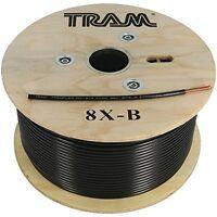 Tram 8x-b Rg-8x 500ft Roll Tramflex Coaxial Cable (8xb)