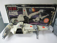 B-Wing Fighter 100% Original Complete Kenner Vintage Star Wars 1984 Decals w/Box