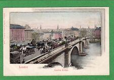 London Bridge London Early pc unused Pictorial Postcard Agency  Ref F604