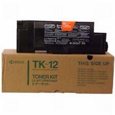 2 Piece Original Kyocera TK-12 TK12 Toner Black FS-1550 1600 3400 3600 6500