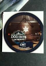 "DOG AND BETH ON THE HUNT TRUCK BADGE TV SMALL 1.5"" GET GLUE GETGLUE STICKER"